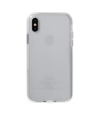 ZWC Aluminium/TPU Backcase iPhone X - Zilver