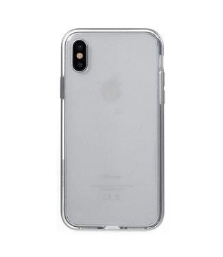 Aluminium/TPU Backcase iPhone X - Grijs