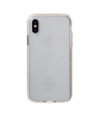 Aluminium/TPU Backcase iPhone X - Goud