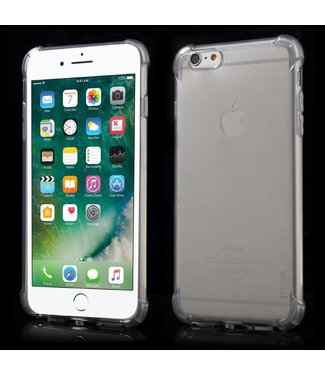 Mofi Mofi Anti-shock TPU Softcase iPhone 6(s) plus - Transparant Grijs