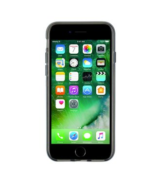 ZWC TPU Softcase iPhone 7/8 Plus - Transparant Antraciet