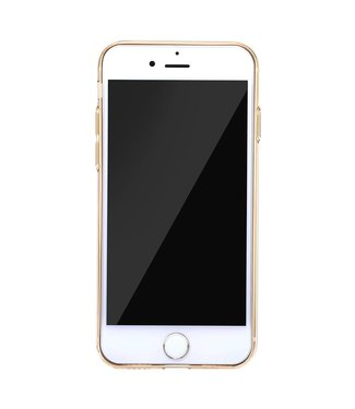 Baseus TPU BASEUS transparante softcase voor iPhone 8 Plus / 7 Plus  - Goud