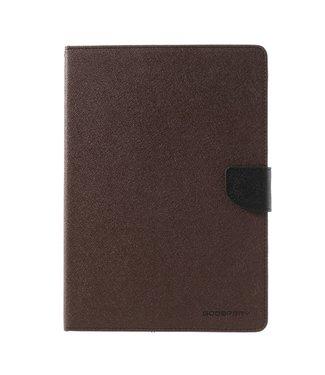 Goospery PU Lederen Portemonnee hoes voor iPad Air w/ Stand  - Bruin