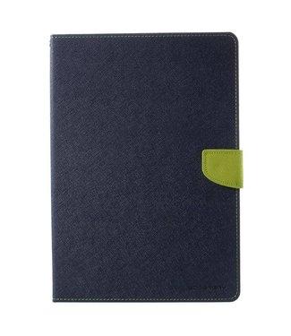 Goospery Leren Hoes met standaard voor iPad Pro 10.5 (2017) - Donker Blauw