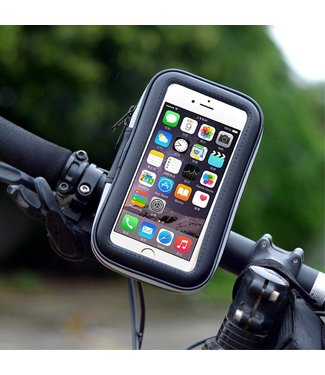 LXH-032 Fietsstuurhouder Houder Case voor iPhone 8 Plus / 7 Plus / 6s Plus etc. - Grootte: L