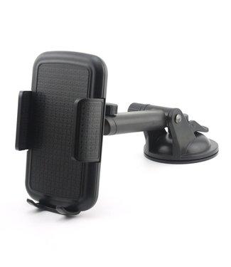 Auto Dashboard houder met Telescoop arm voor iPhone X/ 7/ 7plus/ 8 / 8 Plus/ breedte: 55-92 mm
