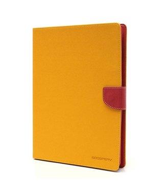 Goospery PU Lederen Wallet Hoes voor iPad 2/3/4 - Geel