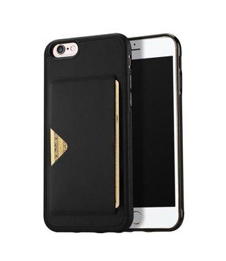 Dux Ducis DUX DUCIS PU- lederen Backcase met Kaartsleuf voor iPhone 6 / 6s 4.7-inch - Zwart