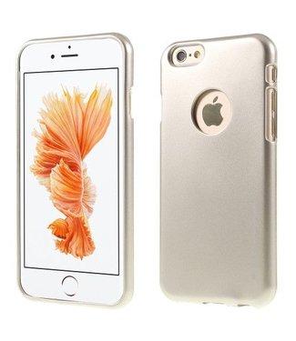 Goospery MERCURY GOOSPERY i JELLY TPU Softcase Metallic Finish voor iPhone 6s, 6  - Champagne