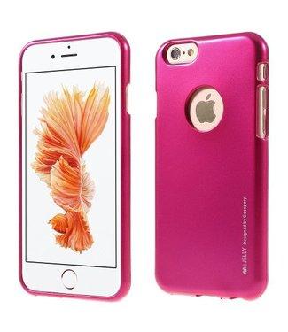 Mercury Goospery MERCURY GOOSPERY i JELLY TPU Softcase Metallic Finish voor iPhone 6s, 6  - Roze
