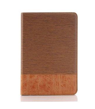 ZWC Bookcase Linnenstructuur voor iPad mini 4