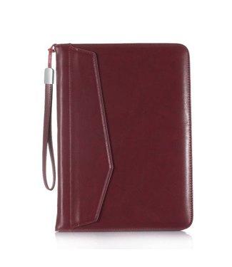 ZWC PU Lederen Wallet Hoes voor  iPad  9.7 inch (alle modellen)