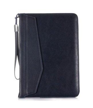 ZWC PU Lederen Wallet Hoes iPad  voor iPad 9.7 (alle modellen)