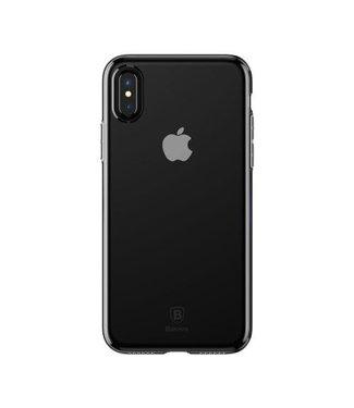 Baseus BASEUS TPU Shell voor iPhone XS / X 5.8 inch - Zwart