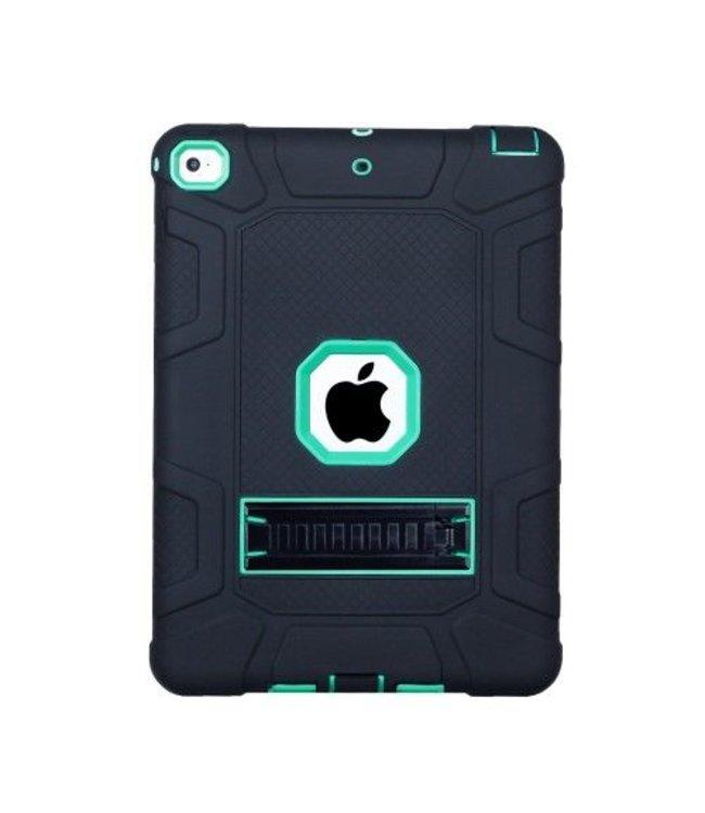 ZWC Armour Kickstand Hybrid Case voor iPad 9.7 (2018) / 9.7 (2017)