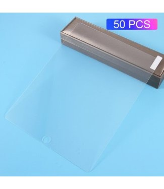 TVC Gehard Glas Screen Guard Film 50PCS / 0.3mm met afgeronde hoek voor iPad 4/3/2