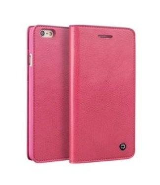 Qialino Leren Wallet Qialino iPhone 6(s) - Roze