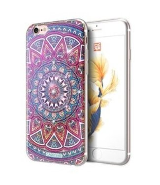 Casecube Bling TPU Softcase Casecube iPhone 6(s) - Bohemisch