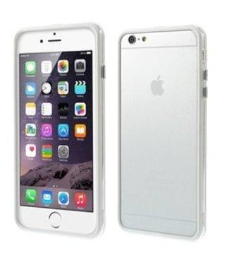 ZWC TPU Combo Bumper iPhone 6(s) plus - Wit