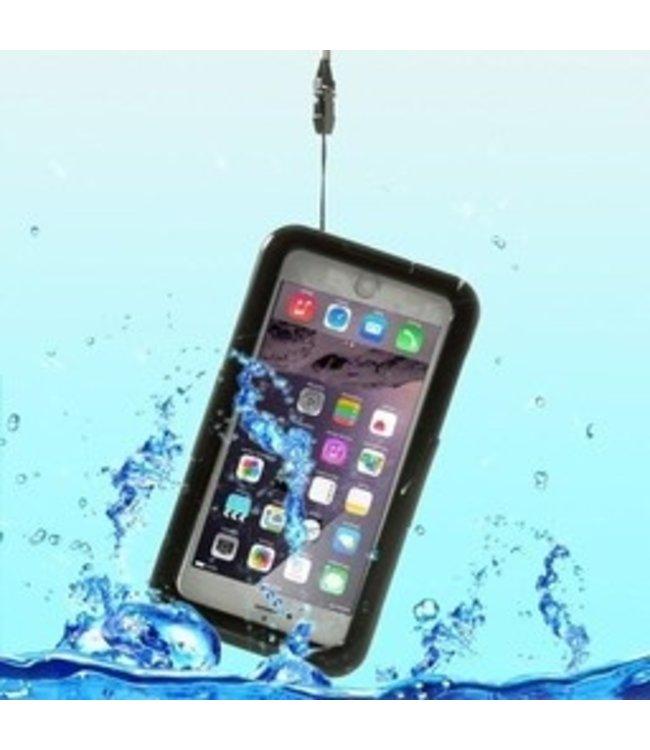 ZWC PC Waterproof Hardcase iPhone 6(s) plus - Zwart