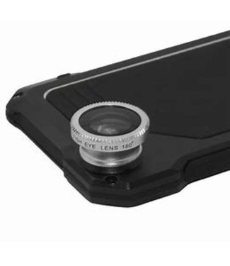 ZWC Bumper case + lens Iphone 7/8 - Zwart