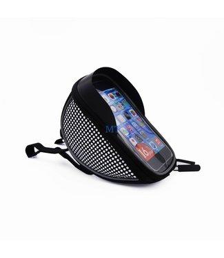ZWC Etui Smartphonehouder voor de fiets Iphone 6plus/7plus/8plus - Zwart