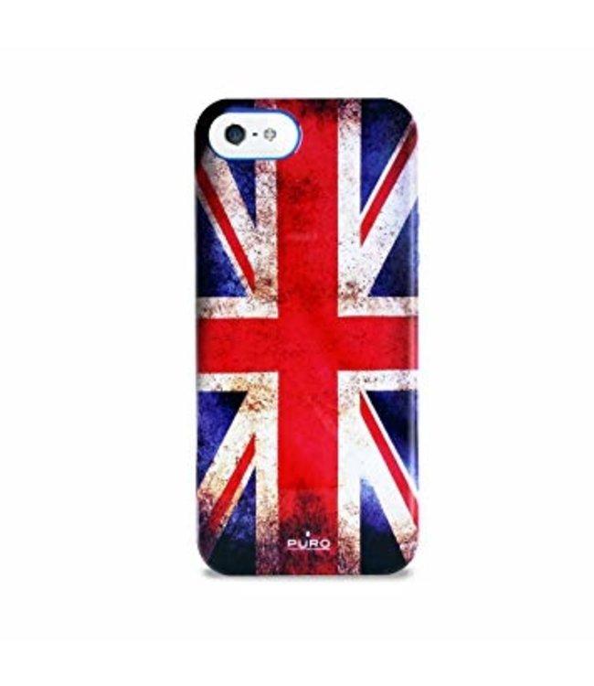 ZWC Anti-schok cover Iphone 5(s)/SE - Flag - Puro