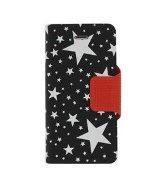 Mjoy Funline Stars Iphone 5(s)/SE - Zwart/Wit - Mjoy