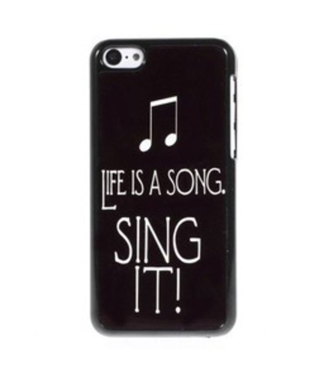 ZWC PC Hardcase iPhone 5c - Life Is A Song