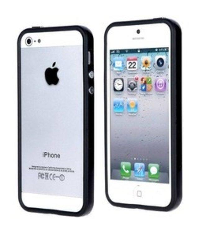 ZWC TPU bumper - iPhone 5(s)/SE - Zwart