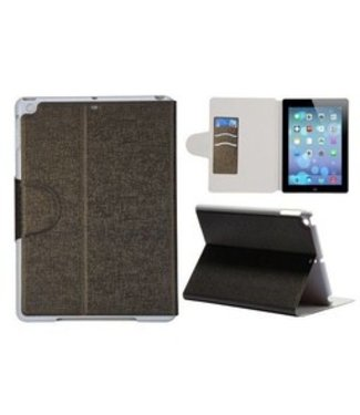 ZWC Cover Stand Magnetische PC + Leren Case - iPad Air - Goud