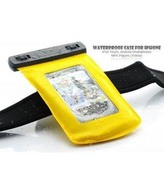 Waterdicht Smartphonetasje -Geel