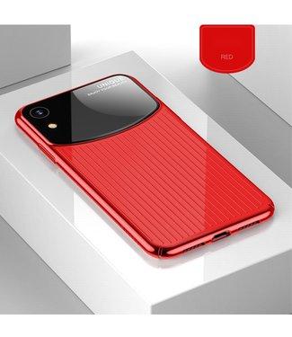 ZWC Hardcase - iPhone XR - Acrylspiegeloppervlakte - Rood - USAMS