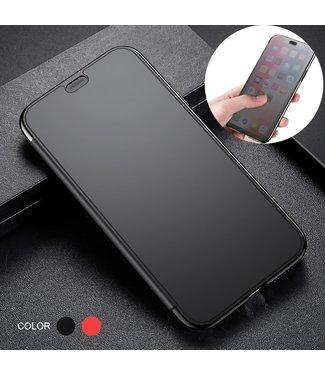 Baseus TPU Softcase met doorschijnend venster - iPhone XR - Zwart
