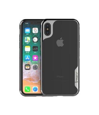 iPaky Hardcase Iphone Hoesje - Iphone XR - Zwart - Ipaky