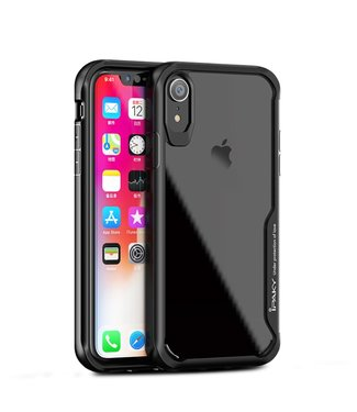 iPaky Hardcase Iphone hoesje - Iphone XR - Zwart - Ipaky
