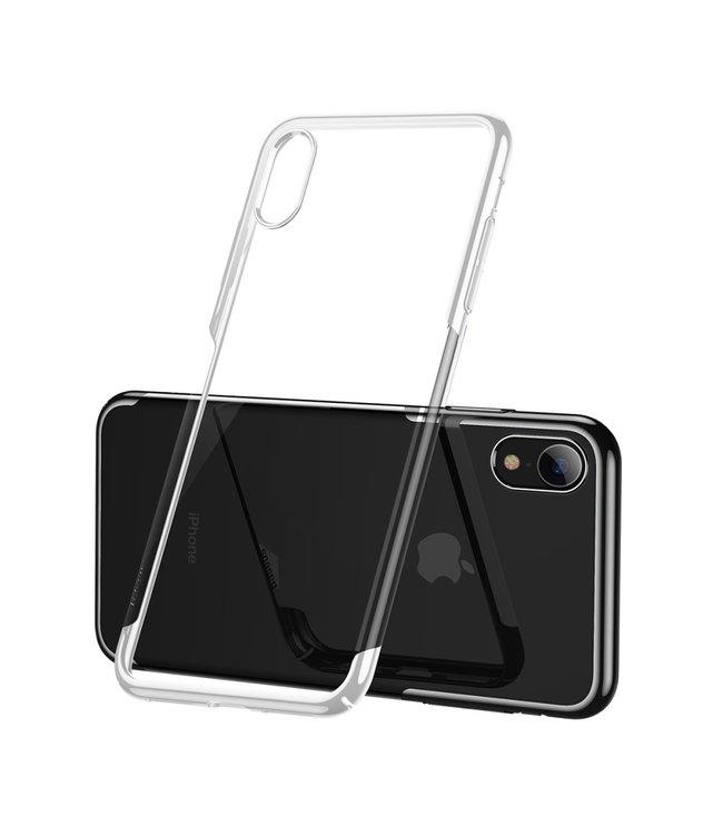 Baseus Hardcase Iphone hoesje - Iphone XR - Witte omranding - Baseus