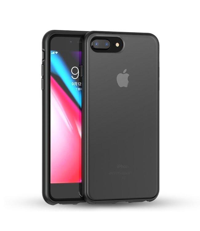 iPaky Quality Hardcase - Iphone 6(s)plus/7plus/8plus - Zwart - Ipaky