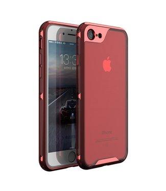 iPaky Hardcase Iphone Hoesje - Iphone 7/8 - Rood - Ipaky