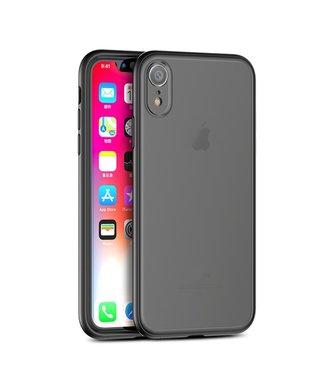 iPaky Quality Hardcase - Iphone XR Hoesje - Zwart - Ipaky