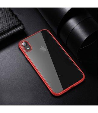 iPaky Quality Hardcase - Iphone XR Hoesje - Rood - Ipaky