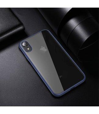 iPaky Quality Hardcase - Iphone XR Hoesje - Blauw- Ipaky