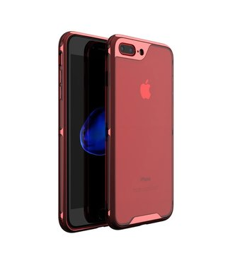 iPaky Hardcase Iphone Hoesje - Iphone 7Plus/8Plus - Rood - Ipaky