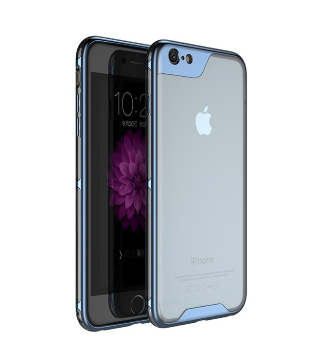 iPaky Hardcase Iphone Hoesje - Iphone 6/S - Blauw - Ipaky