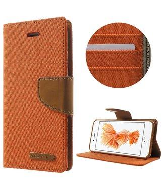 Goospery Canvas Diary - Iphone 7/8 - Oranje - Goospery