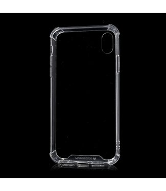 Goospery Super Protect case - Iphone XR Hoesje - Transparant - Goospery