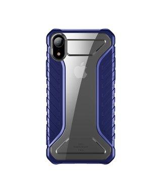 Baseus Race Hardcase - Iphone XR Hoesje - Blauw - Baseus