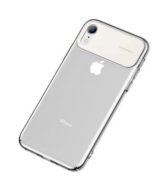 Baseus Comfortabele Hardcase - Iphone XR Hoesje - Wit- Baseus
