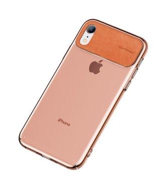 Baseus Comfortabele Hardcase - Iphone XR Hoesje - Oranje - Baseus