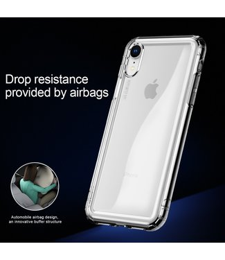 Baseus Airbag Softcase - Iphone XR Hoesje - Transparant - Baseus